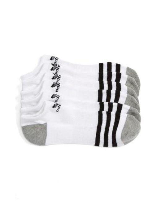 Adidas Originals | Original Roller 3-pack No-show Socks, White for Men | Lyst
