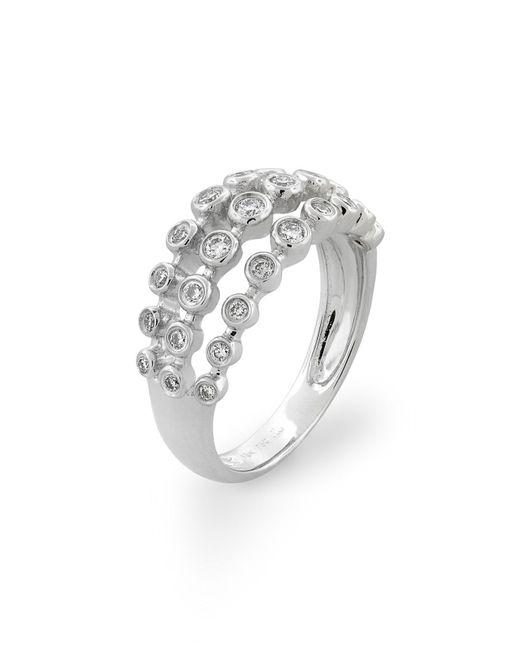 Bony Levy - Metallic Amara Three-row Bezel Diamond Ring (nordstrom Exclusive) - Lyst