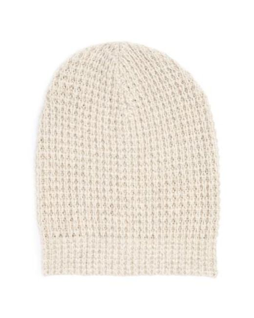 Madewell | Natural Billie Slouchy Beanie | Lyst