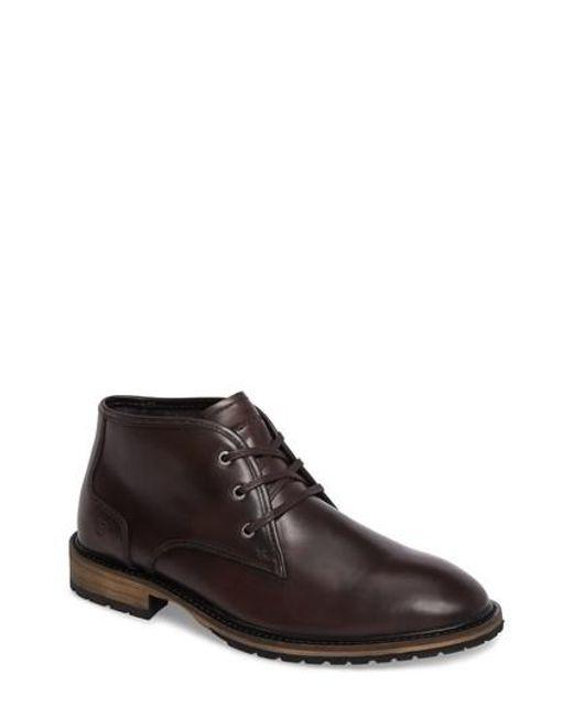 Andrew Marc - Brown Woodside Chukka Boot for Men - Lyst