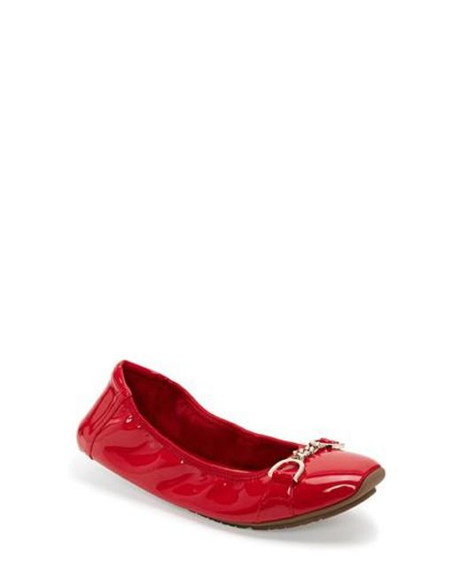 Me Too | Red Brielle Flat | Lyst