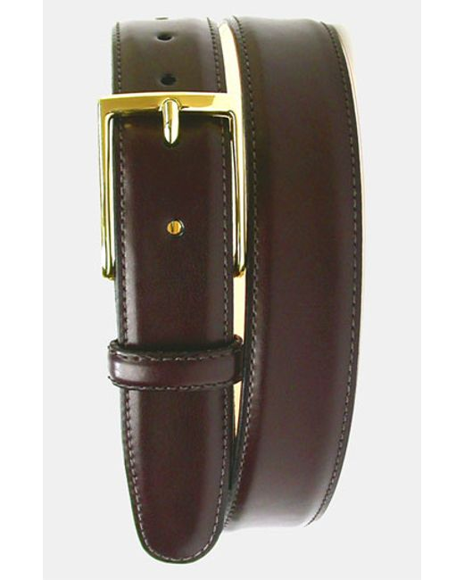 Martin Dingman   Purple 'smith' Leather Belt for Men   Lyst