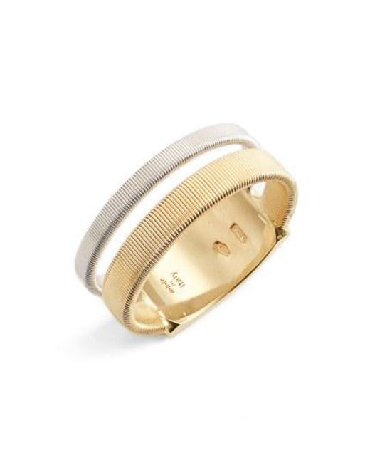 Marco Bicego - Metallic Masai Two Strand Coil Ring - Lyst