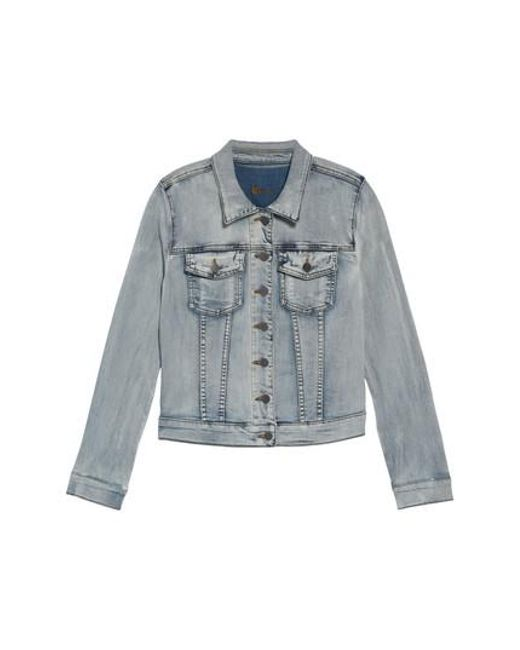 Kut From The Kloth - Blue 'helena' Denim Jacket - Lyst