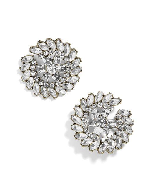 BaubleBar - Metallic Elsie Stud Earrings - Lyst