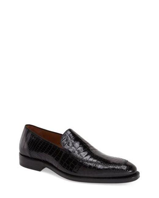 Mezlan | Black 'budapest' Loafer for Men | Lyst