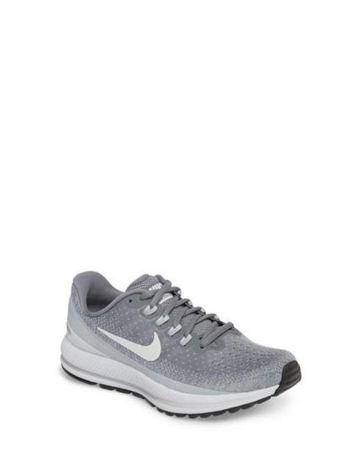4d2a21c280e2e ... usa nike gray air zoom vomero 13 running shoe lyst 99ca7 b7aa7