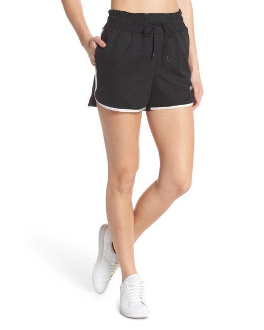Nike - Black Sportswear Women's Dri-fit Mesh Shorts - Lyst
