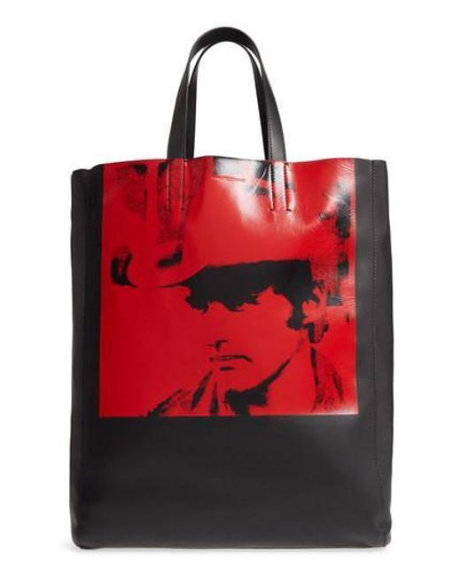 CALVIN KLEIN 205W39NYC Andy Warhol Boots Tote Bag xZEk0cr
