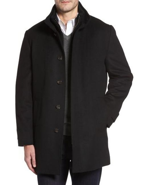 Cardinal Of Canada - Black Wool Jacket for Men - Lyst