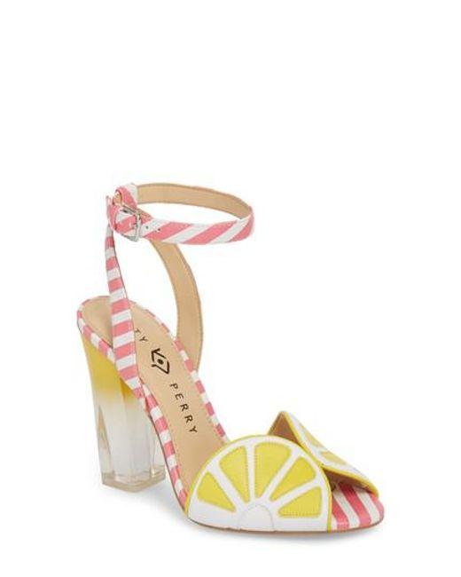 Lyst - Katy Perry The Citron Sandal