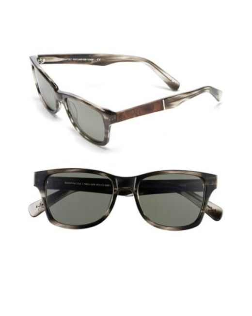 Shwood - Gray 'canby' 53mm Polarized Sunglasses for Men - Lyst