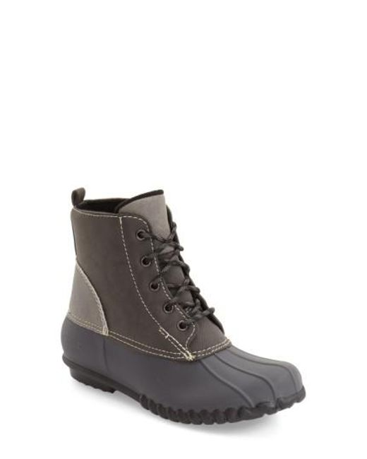 Dav | Gray 'nantucket' Duck Boot for Men | Lyst