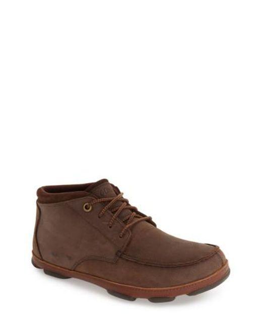 Olukai | Brown 'hamakua' Moc Toe Boot for Men | Lyst