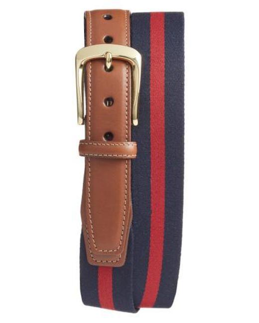 Torino Leather Company - Multicolor European Surcingle Belt for Men - Lyst