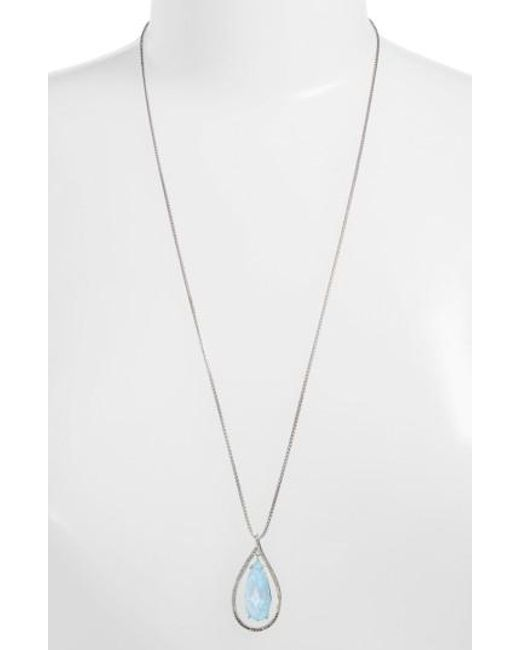 Judith Jack   Metallic Tropical Touches Doublet Pendant Necklace   Lyst