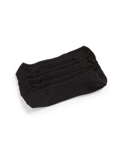 CALVIN KLEIN 205W39NYC - 3-pack No-show Socks, Black for Men - Lyst