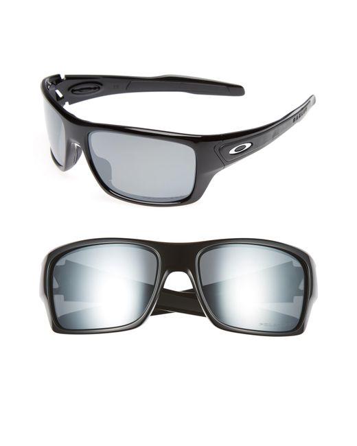 8ce308dd6b Lyst - Oakley Turbine 65mm Polarized Sunglasses - in Gray for Men