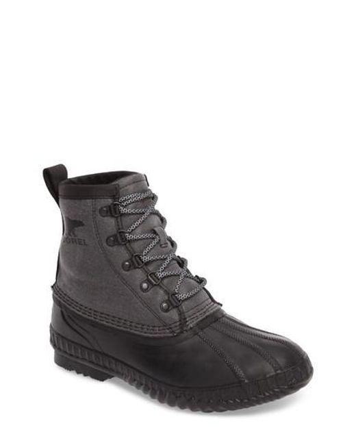 Sorel | Black Cheyanne Ii Short Waterproof Boot for Men | Lyst