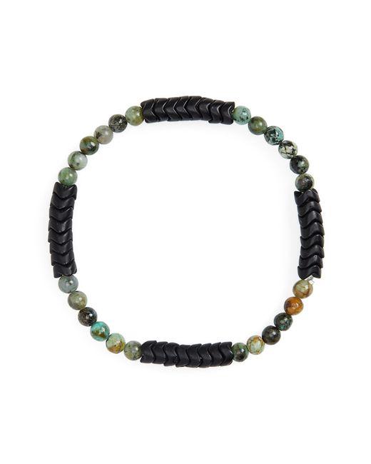 George Frost - Green Turquoise Bead Bracelet for Men - Lyst