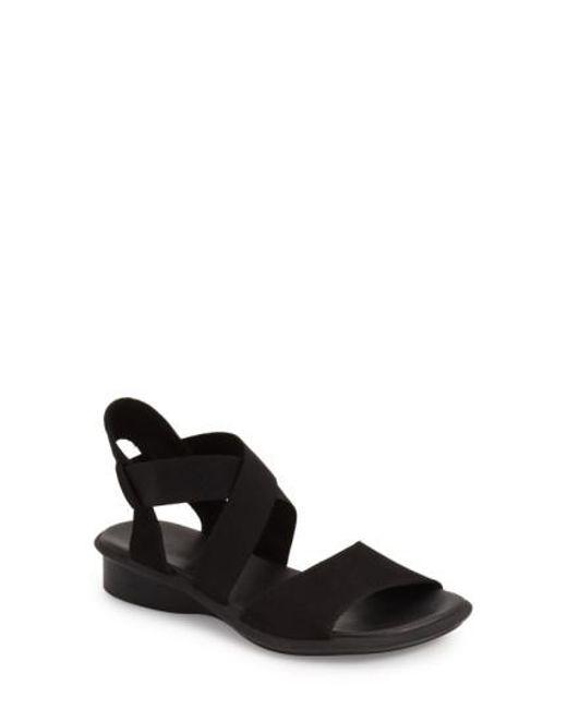 Arche | Black 'satia' Sandal | Lyst