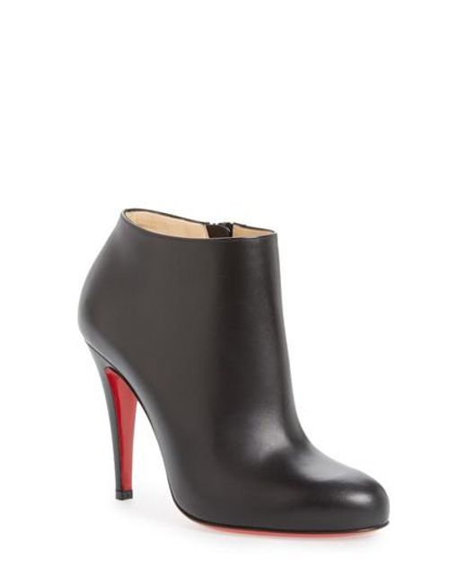 Christian Louboutin - Multicolor Belle Round Toe Bootie - Lyst