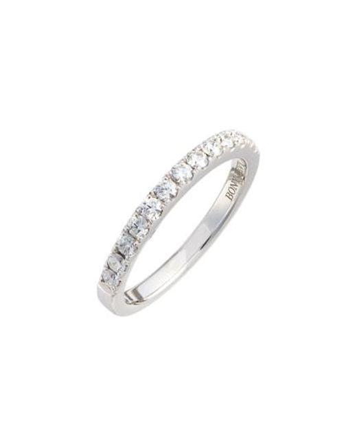 Bony Levy - Metallic Diamond Band Ring (nordstrom Exclusive) - Lyst