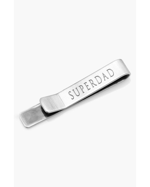 Ox and Bull Trading Co. - Metallic 'superdad' Tie Bar for Men - Lyst