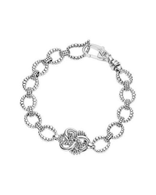 Lagos | Metallic 'love Knot' Link Bracelet | Lyst