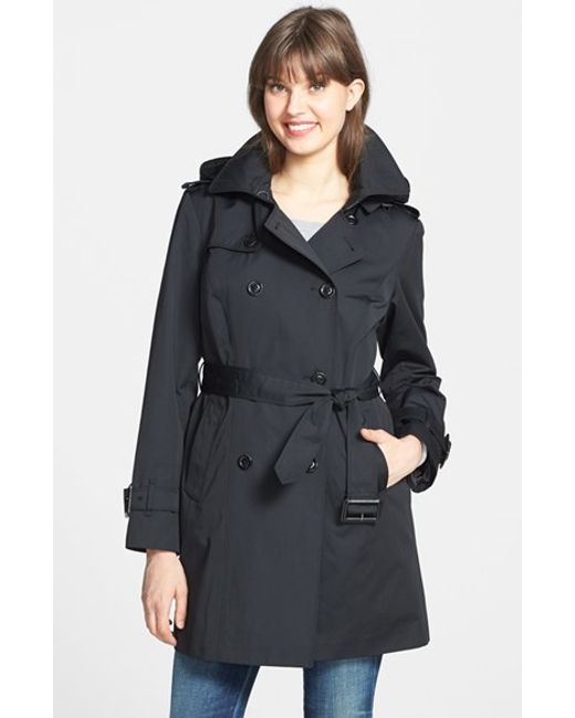 London Fog | Black Heritage Trench Coat With Detachable Liner | Lyst