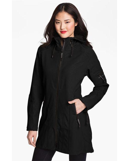 Ilse Jacobsen | Black Rain 7 Hooded Water Resistant Coat | Lyst