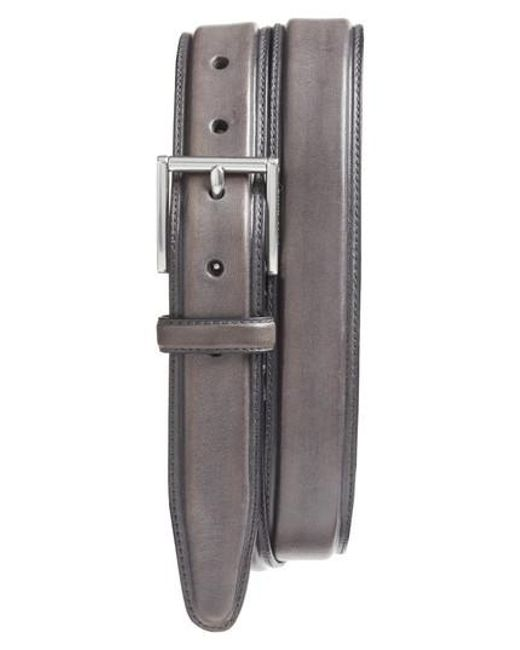 Cole Haan - Multicolor Pressed Edge Leather Belt for Men - Lyst