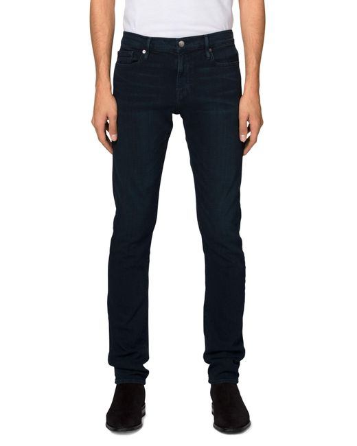 FRAME - Blue 'l'homme' Slim Fit Jeans for Men - Lyst