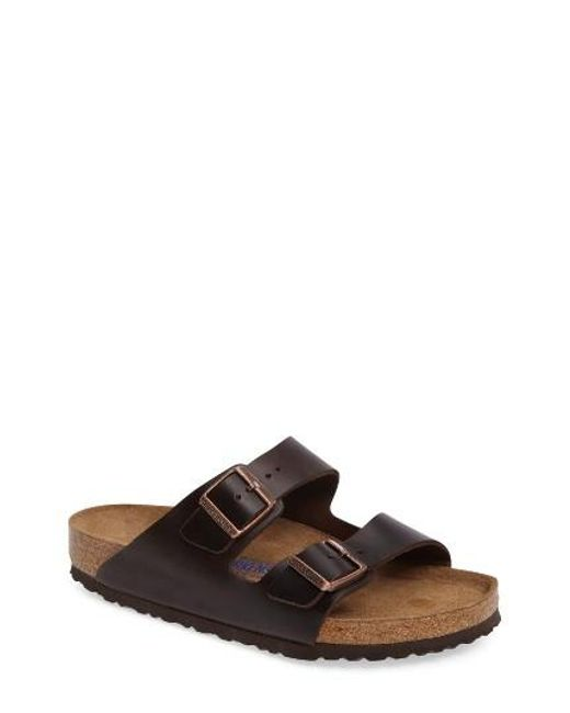 Birkenstock   Brown 'arizona Soft' Sandal for Men   Lyst
