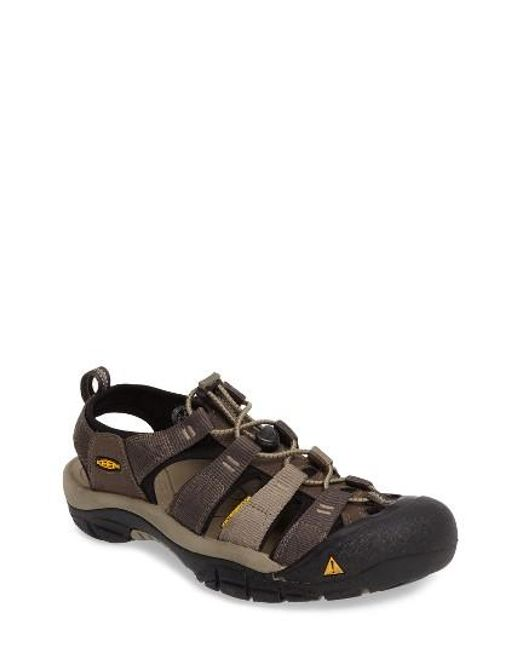 Keen | Black 'newport H2' Sandal for Men | Lyst