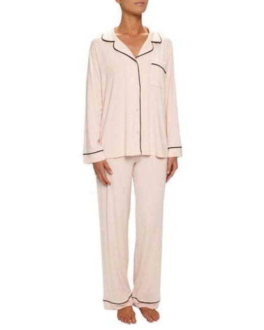 Eberjey | Natural 'giselle' Pajamas | Lyst