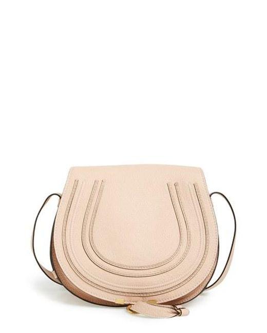 Chloé | Gray Medium Marcie Leather Saddle Bag | Lyst