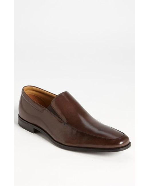 Gordon Rush | Brown 'elliot' Venetian Loafer for Men | Lyst