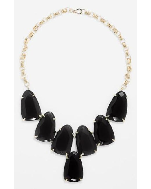 Kendra Scott | Black 'harlow' Necklace | Lyst