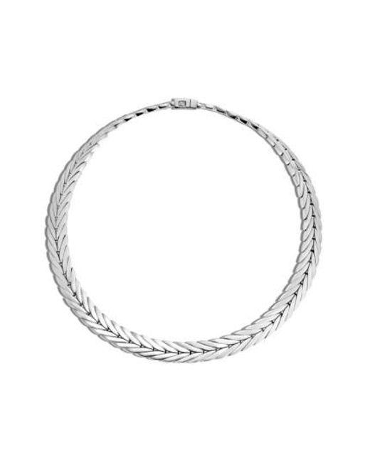 John Hardy - Metallic 'classic Chain' Chain Collar Necklace - Lyst
