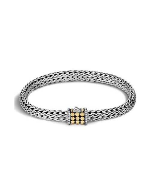 John Hardy | Metallic 'dot' Small Bracelet | Lyst