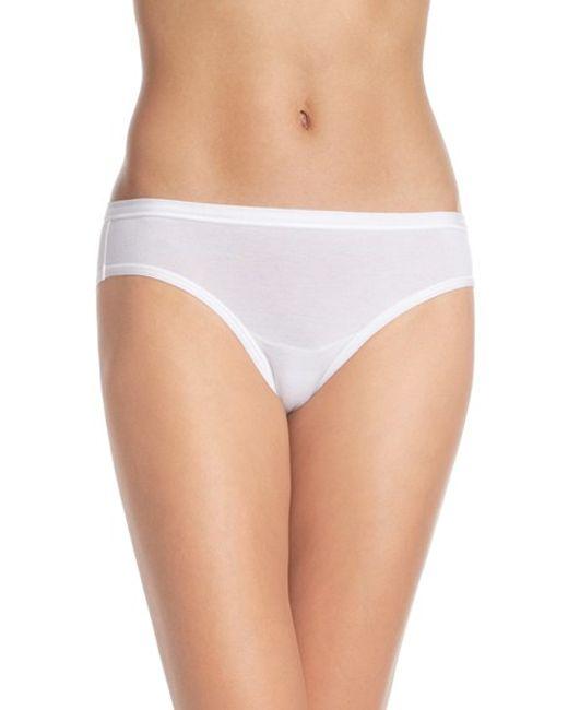 Wacoal | White 'b Fitting' Bikini | Lyst