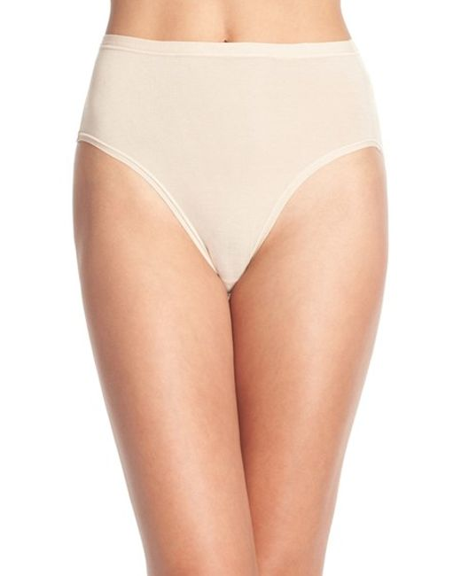 Wacoal | Natural 'b Fitting' High Cut Briefs | Lyst