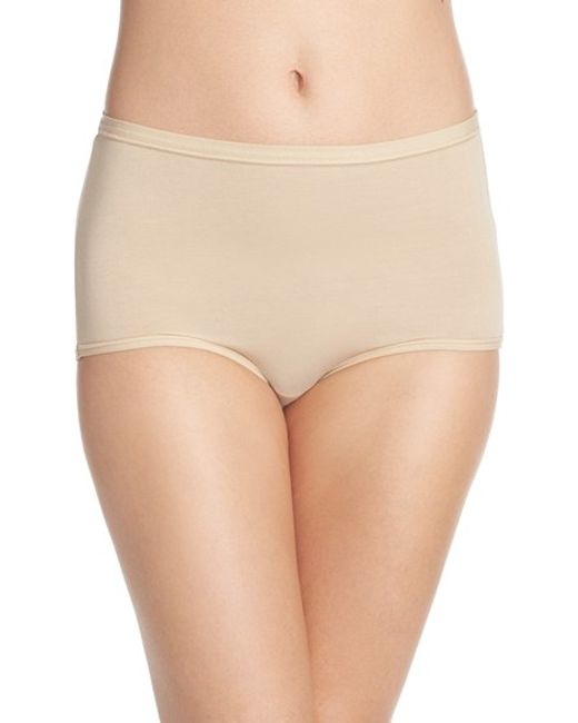 Wacoal | Natural 'b Fitting' Briefs | Lyst