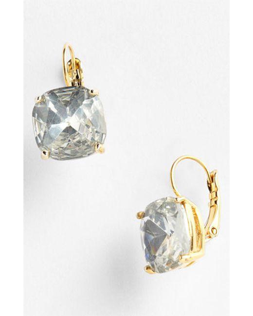 Kate Spade   Metallic Drop Earrings   Lyst