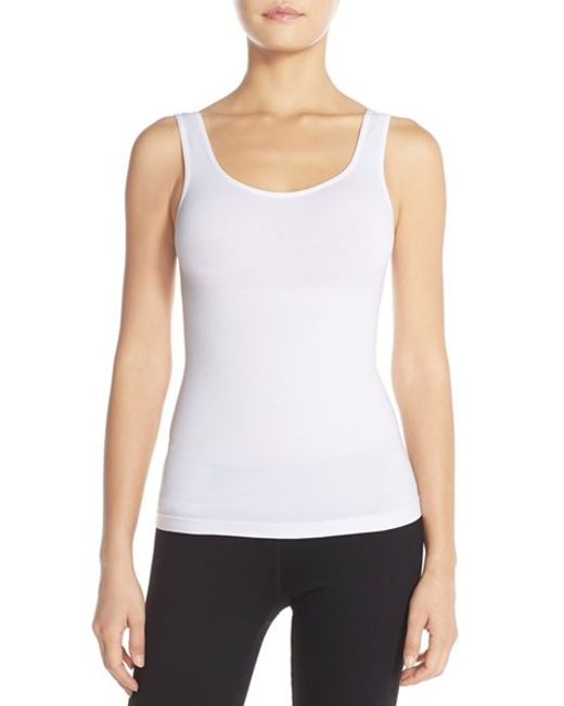 Yummie By Heather Thomson | Natural 'stephanie' Shaping Tank | Lyst