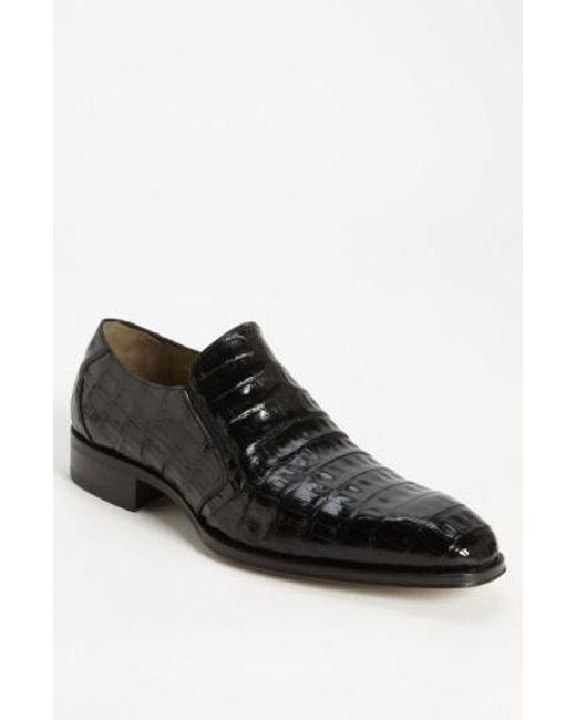 Mezlan   Black 'fiorello' Crocodile Loafer for Men   Lyst