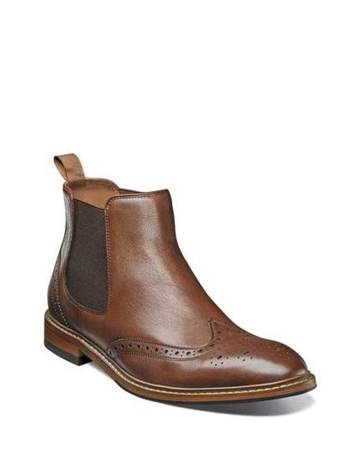 Florsheim   Brown Sheffield Chelsea Boot for Men   Lyst