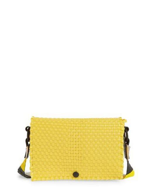 Truss - Yellow Embellished Belt Bag - Lyst