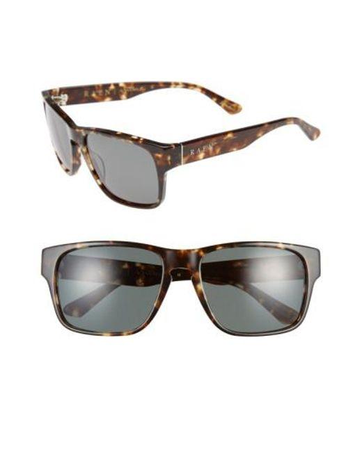 Raen | Gray 'yuma' 57mm Sunglasses - Brindle Tortoise for Men | Lyst
